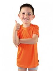 Dětské sportovní triko KOLO oranžové č.1