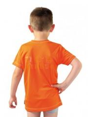 Dětské sportovní triko KOLO oranžové č.2