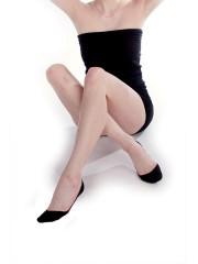 Dámské ponožky do balerín BALERÍNKY 999 černé č.2