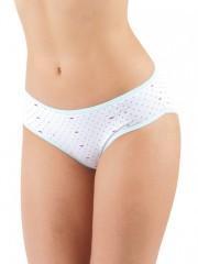 Dámské klasické kalhotky SWEET DOT azurové č.1
