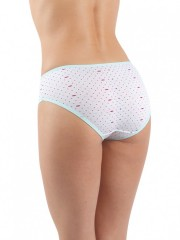 Dámské klasické kalhotky SWEET DOT azurové č.2