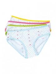 Dámské klasické kalhotky SWEET DOT azurové č.3