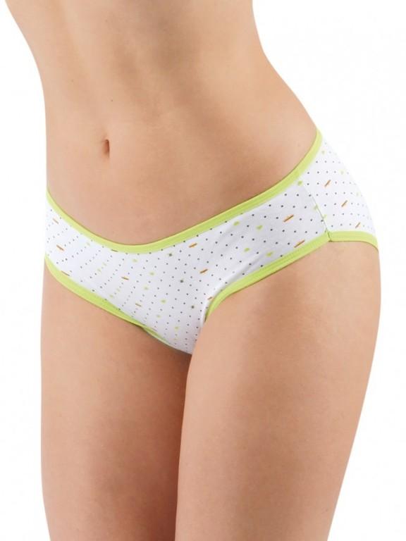 Dámské klasické kalhotky SWEET DOT azurové
