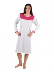 Dámská noční košile P MATYLDA sedmikrásky růžové č.1