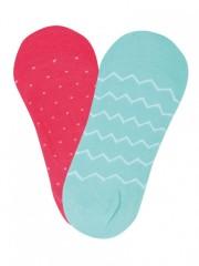 Dámské ponožky do balerín VZOROVKY č.2