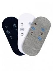 Dámské nízké ponožky MARINKY SILVER č.2