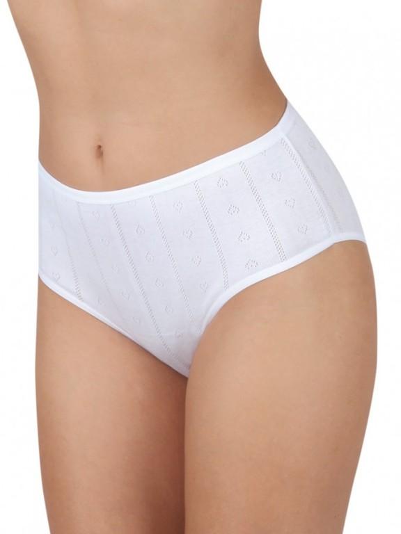 Dámské vyšší kalhotky K 800 bílé