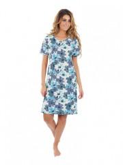 Dámské šaty KAMILA květy modré č.1