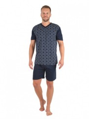 Pánské krátké pyžamo JAKUB 338 č.1