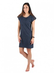 Dámské krátké šaty TEMPESTA jeans č.1