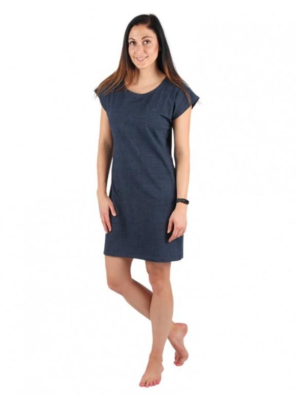 Dámské krátké šaty TEMPESTA jeans