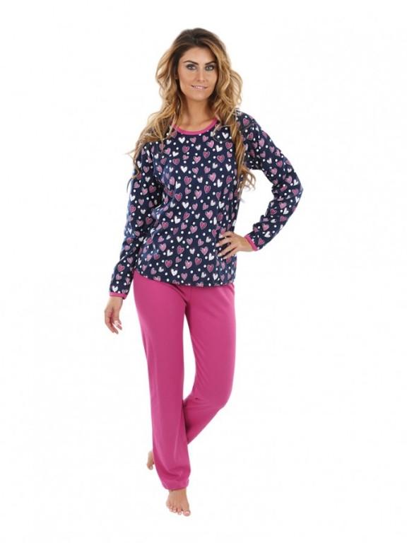 Dámské pyžamo P1406 srdce