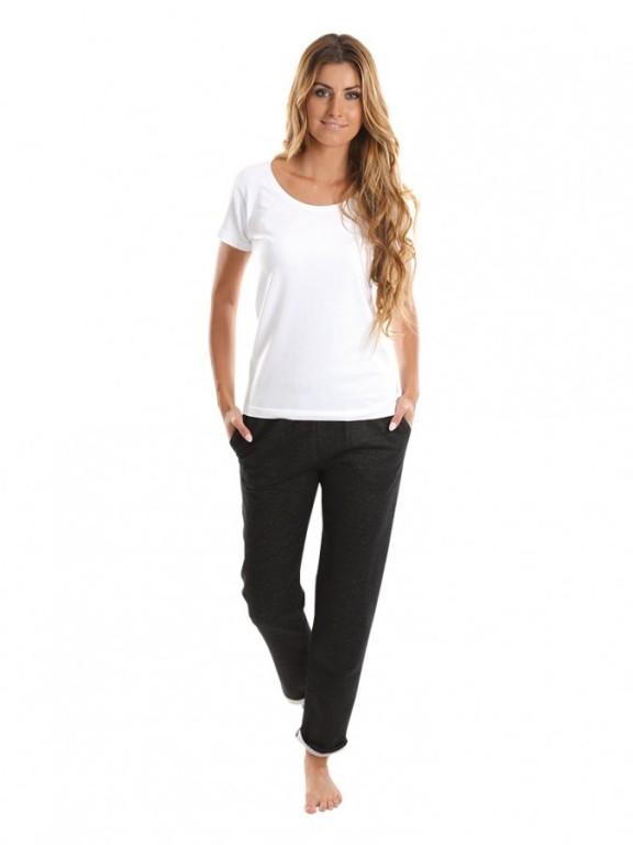 Dámské sportovní kalhoty PANTALON černý jeans