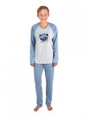 Chlapecké dlouhé pyžamo OLIN č.1
