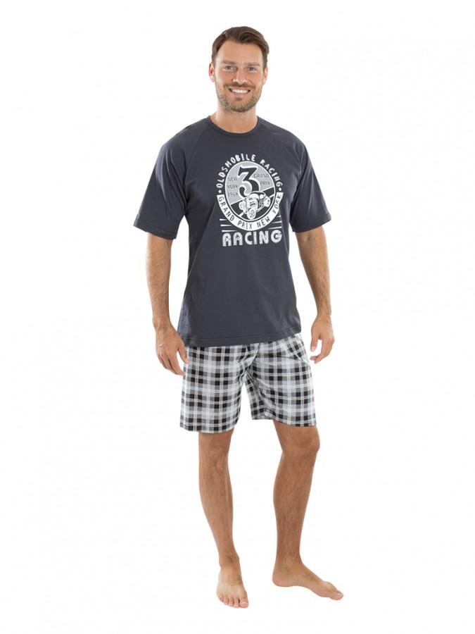 5262bec0f92f Pánské krátké pyžamo TROJKA