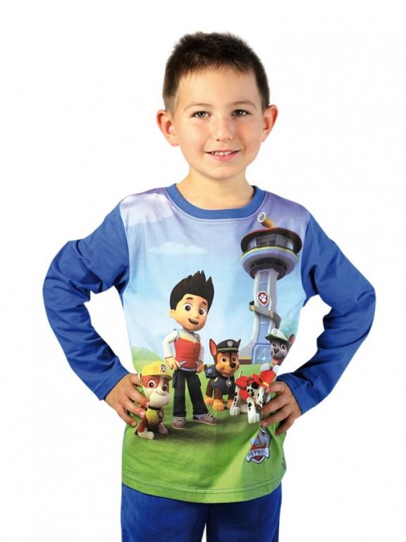 Chlapecké tričko PAW PATROL s dlouhým rukávem