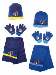Chlapecká souprava čepice, šály a rukavic č.2