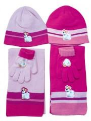 Dívčí souprava čepice, šály a rukavic č.2