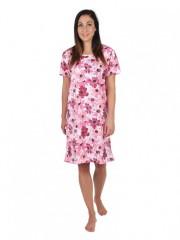 Dámské šaty KAMILA květy růžové č.1