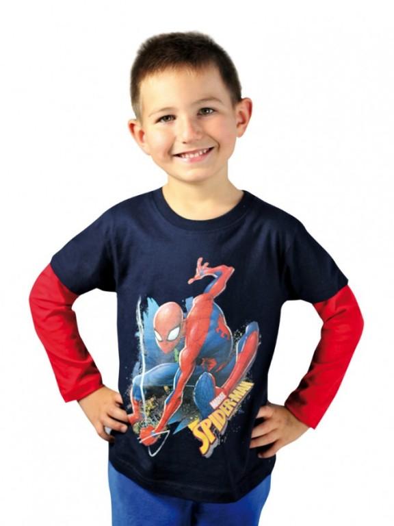 Chlapecké tričko SPIDERMAN s dlouhým rukávem