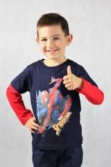 Chlapecké tričko SPIDERMAN s dlouhým rukávem č.3