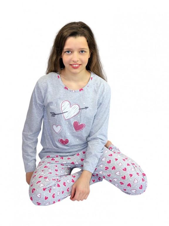 Dívčí dlouhé pyžamo SWEET