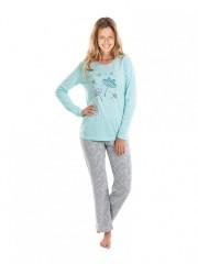 Dívčí dlouhé pyžamo AMANTE č.1