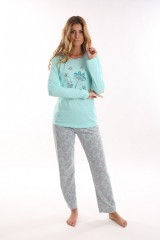 Dívčí dlouhé pyžamo AMANTE č.2