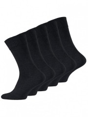 5 PACK pánských ponožek s ALOE VERA a SILVER č.1