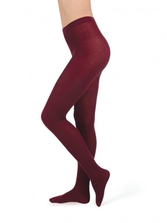 Akrylové punčochové kalhoty AKRYLA 19 červené