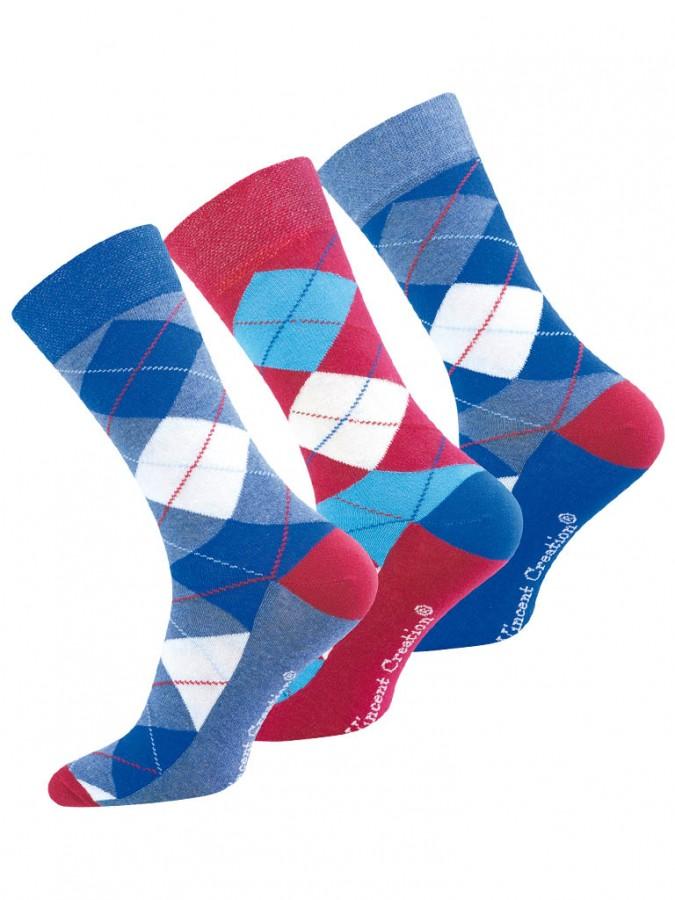Levně 3 PACK pánských ponožek 2078 - PON 2078 3 BASS 35-38